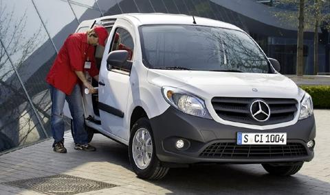 Mercedes-Benz Citan na osnovama Renault-a Kangoo Četvrtak, 19 April